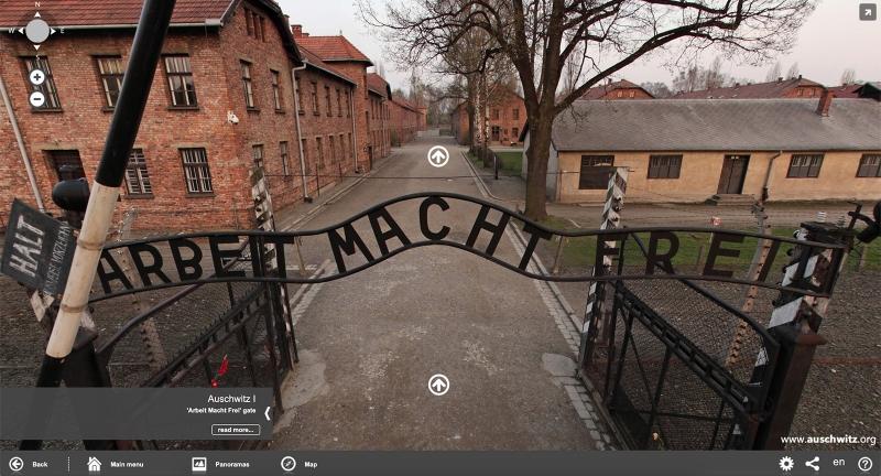 Auschwitz Birkenau Virtual Tour